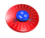 Fidget Spinner - Hand Finger Spin Red Sun