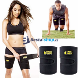 Stehenní bandáž Sweet Sweat Adjustable Trimmer Belt