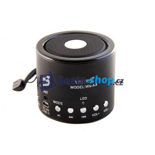 Mobilní MP3 reproduktor s FM rádiem WS-A8