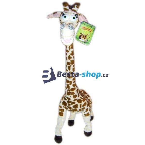 Plyšová žirafa Melman 39 cm z filmu Madagaskar 3