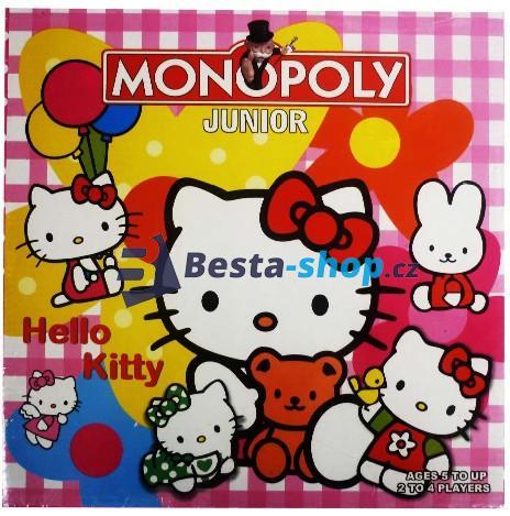 Monopoly Hello Kitty - Anglická verze