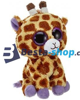 Plyšová žirafa z kolekce TY Beanie Boos - 18 cm