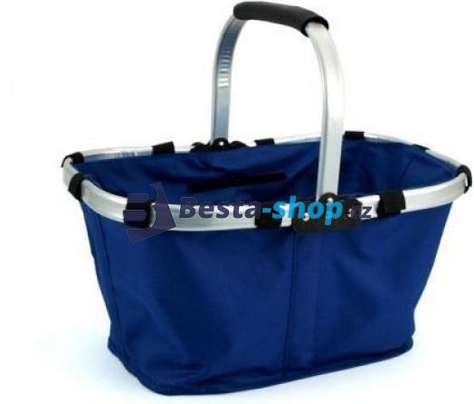 Nákupní skládací košík textilní
