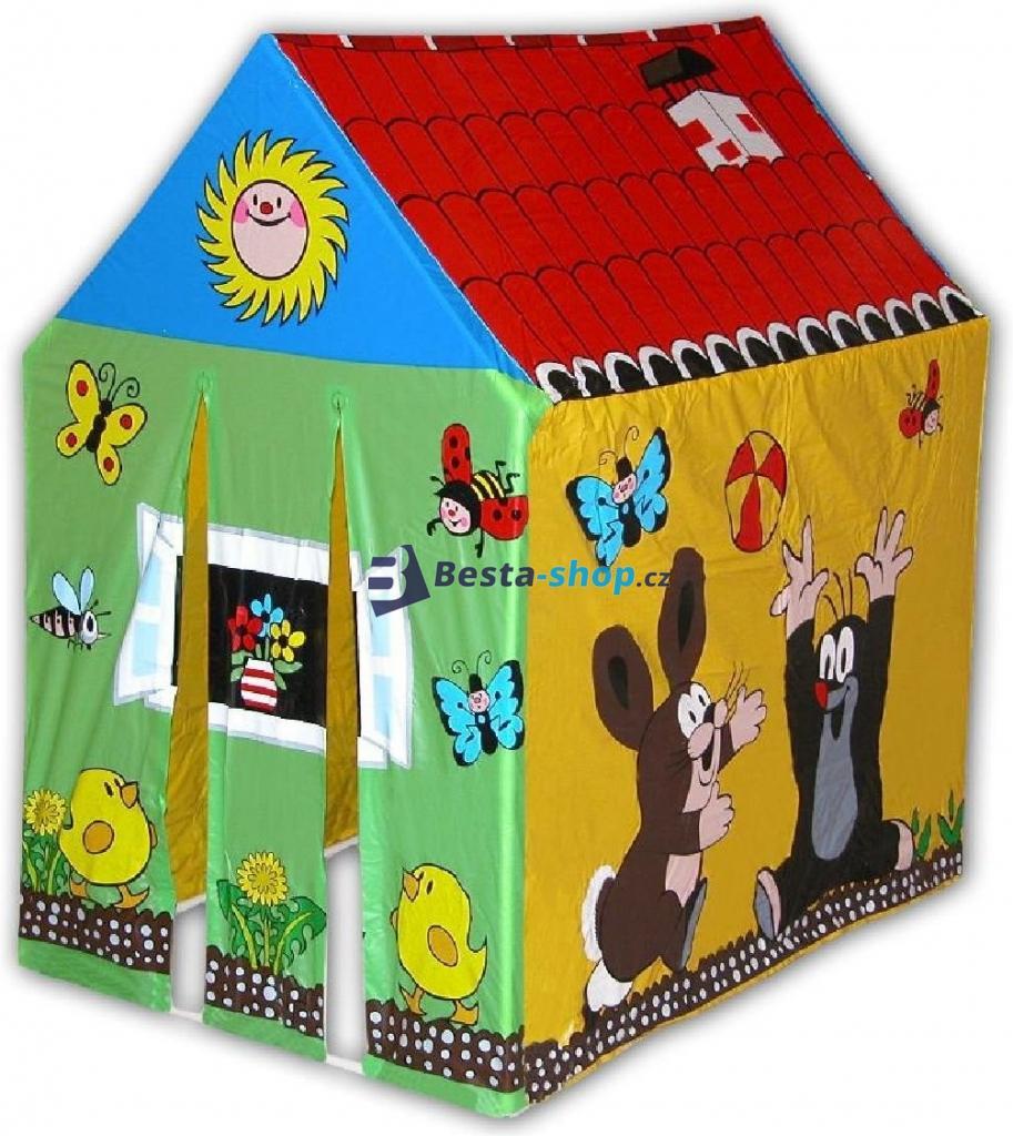 Domek Krtek pro děti skládací (stan)