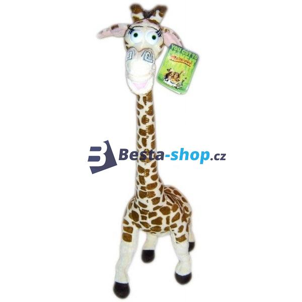 Plyšová žirafa Melman velká 48cm z filmu Madagaskar 3
