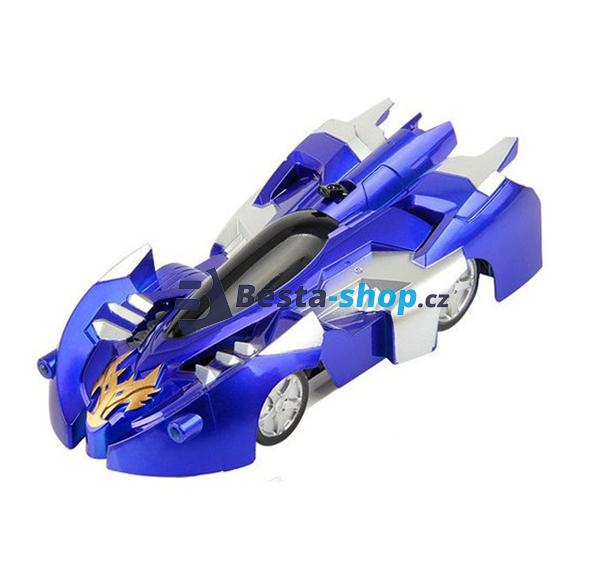 Antigravitační autíčko CLIMB FORCE modré  6113b691be