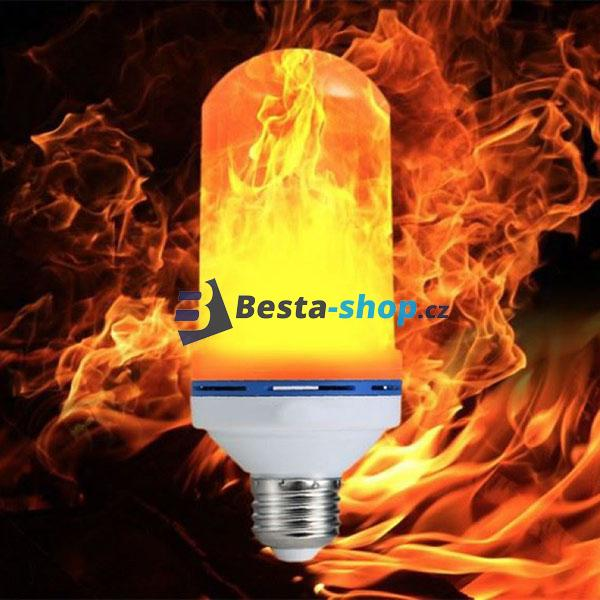 e2929d0ac1a7 LED žárovka imitující plamen HYO-2