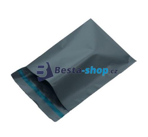 Obálka plastová samolepicí šedá 380x520 - 100ks