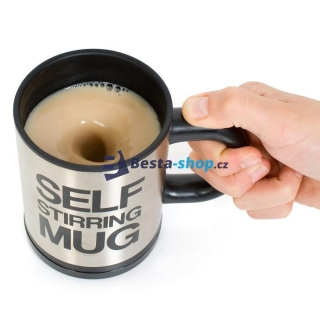 Líný hrnek - SELF STIRRING MUG