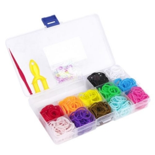 Loom Bands - set 240 ks bez pletacího stavu