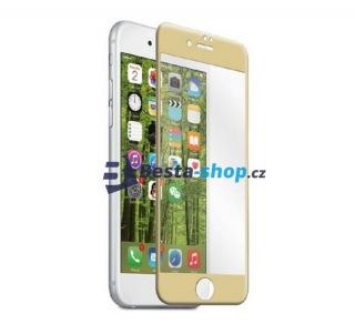 Tvrzené sklo 3D Full Cover pro iPhone 7 Plus gold