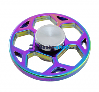 Fidget Spinner - Hand Finger Spin RAINBOW BALL