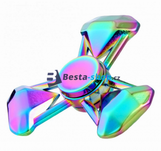 Fidget Spinner - Hand Finger Spin RAINBOW DIAMOND