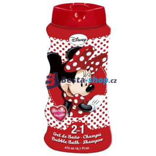 Disney Minnie 2v1 šampon a pěna do koupele 475ml