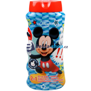Mickey Mouse 2v1 šampon a pěna do koupele 475ml