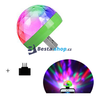 Mini LED disco koule do mobilu