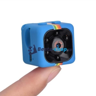 Mini kamera Full HD 1080P COP CAM modrá SQ11