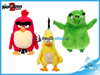 Angry Birds Movie 2 plyšový Rudohněv 34 cm