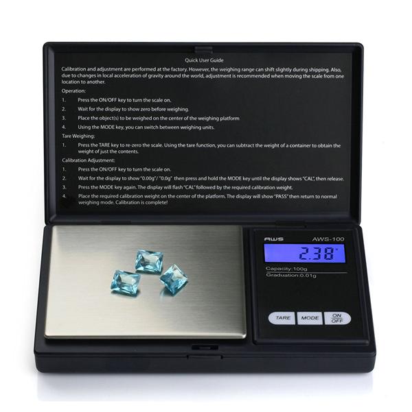 Kapesní digitální váha Profesional mini 100g/0,1g