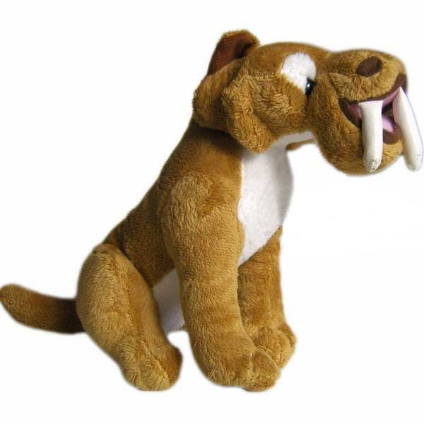 Plyšový šavlozubý tygr Diego z filmu Doba ledová 30 cm