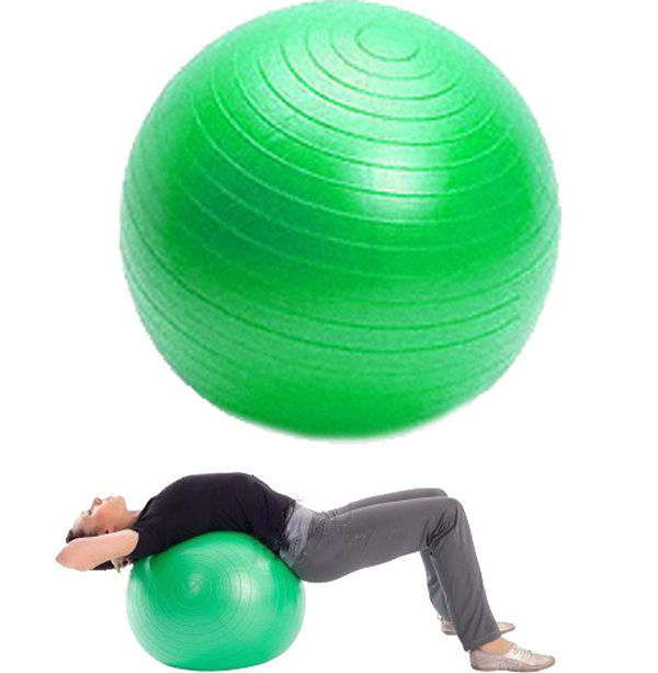 Velký gymnastický míč 75cm zelený