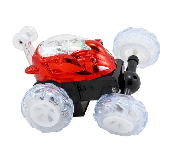 Akrobatické DASHER auto na dálkové ovládání červené