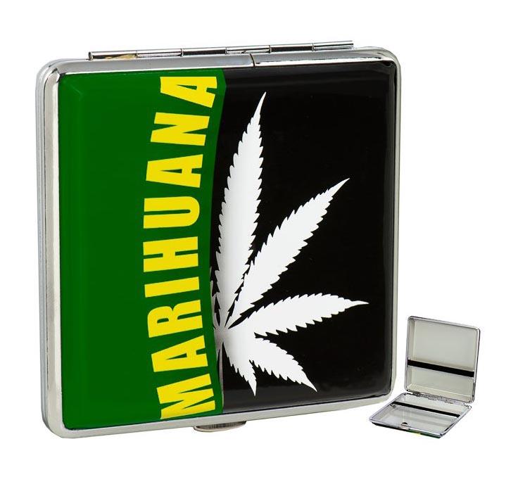 Cigaretové pouzdro - Marihuana