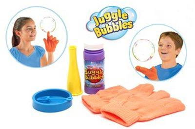 Kouzelný bublifuk + rukavice Juggle Bubbles