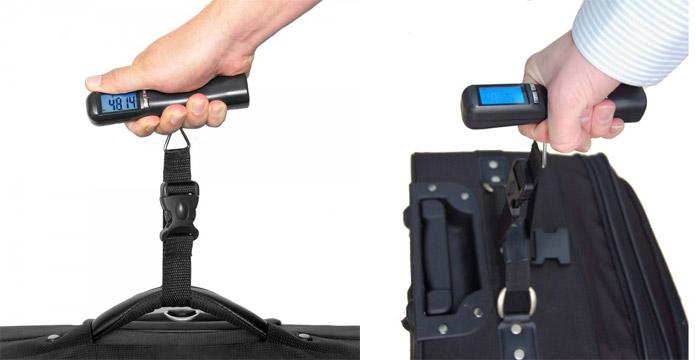 Digitální váha na zavazadla 30 Kg