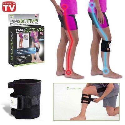 Stahovací bandáž na koleno s magnetem - BE ACTIVE