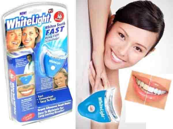 Systém na bělení zubů 2x gel + UV lampa WHITE LIGHT