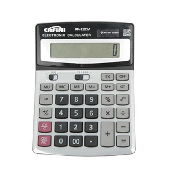 Stolní kalkulátor s 12místným velkým displejem