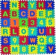 Pěnové puzzle koberec abeceda 6 ks