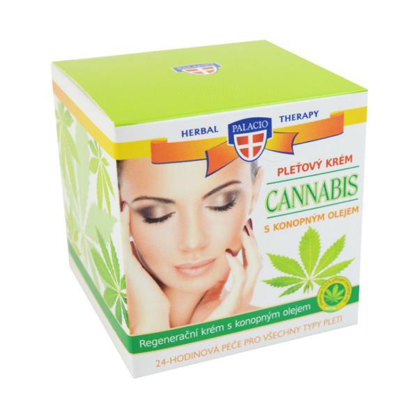 Pleťový krém CANNABIS 50ml