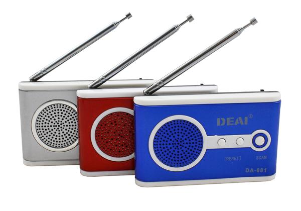 Kapesní mini rádio