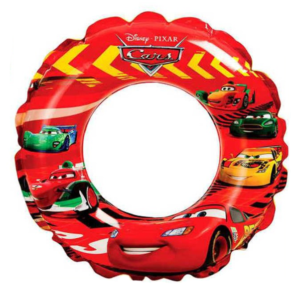 Nafukovací kruh CARS - Auta 51 cm