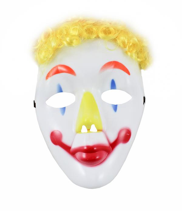 Karnevalová maska klaun