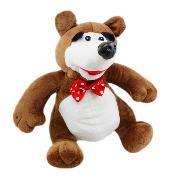 Máša a medvěd - zpívající plyšový medvěd 25 cm