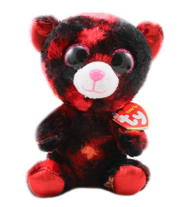 Plyšový medvěd z kolekce TY Beanie Boos - 16 cm