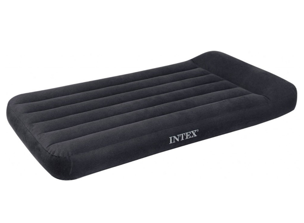 INTEX 66779 Nafukovací postel Twin 191x99x23 cm s kompresorem