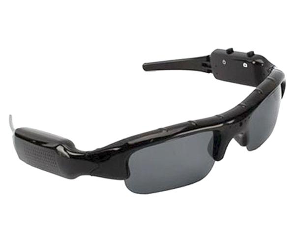 Sluneční brýle s integrovanou kamerou a fotoaparátem