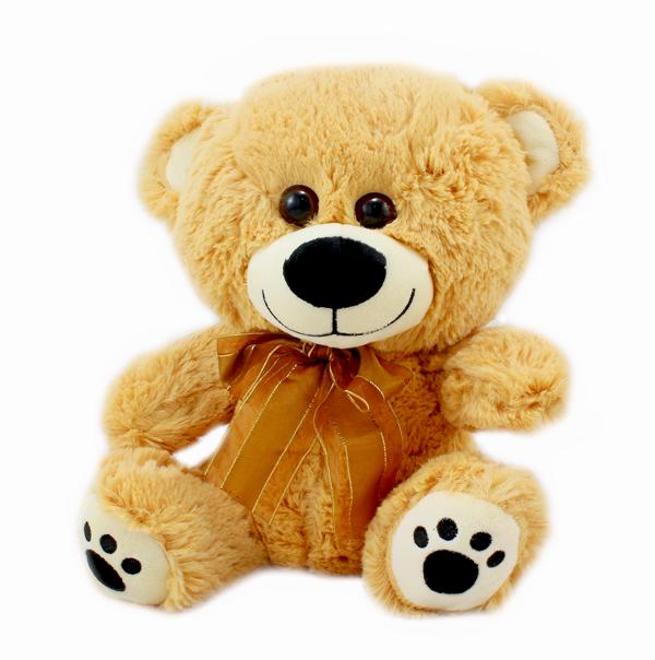 Plyšový medvěd 30cm tmavý