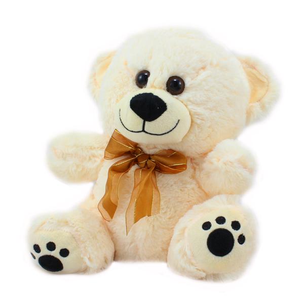 Plyšový medvěd 30cm světlý