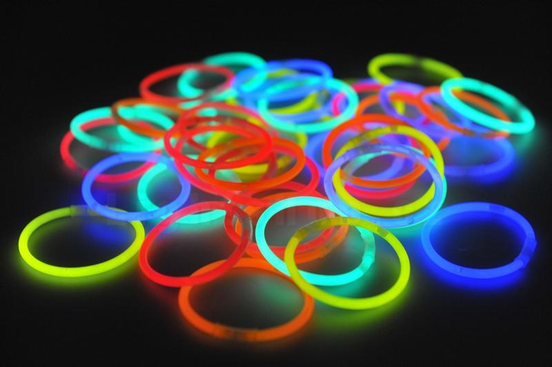 Svitící tyčinky, kroužky 100ks