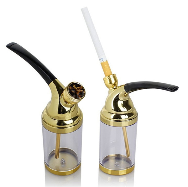 Vodní dýmka šlukovka ZOBO 502 - zlatá
