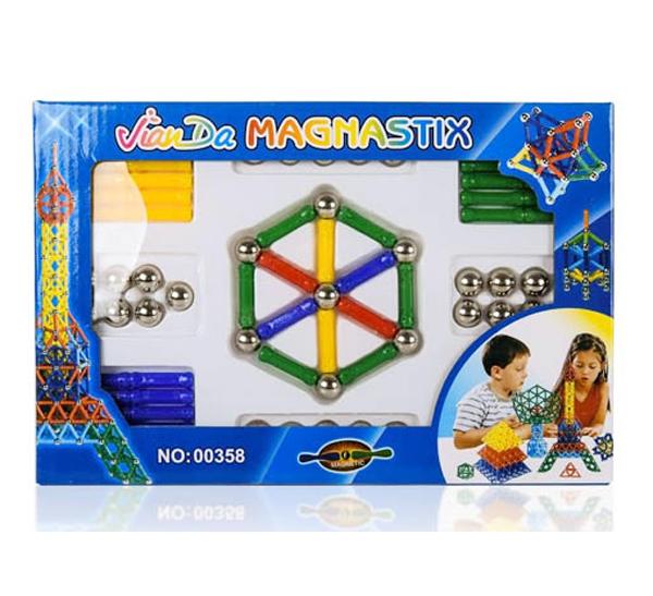 Magnetická stavebnice Magnastix 84 dílů