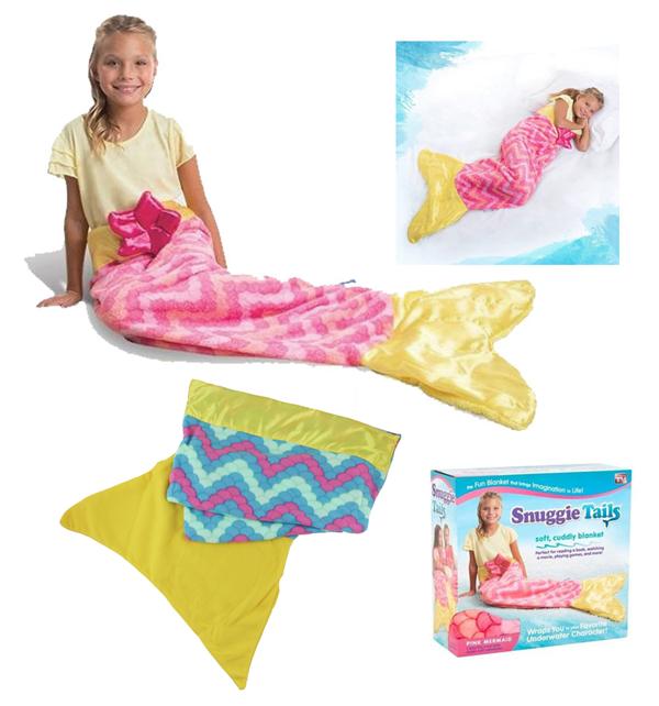 Plyšová deka pro děti Mořská panna