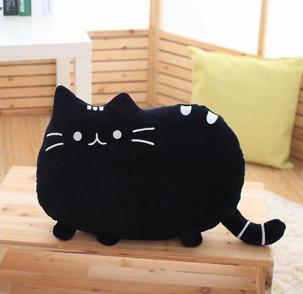 Polštář Pusheen Plyšová kočka 40x30 cm