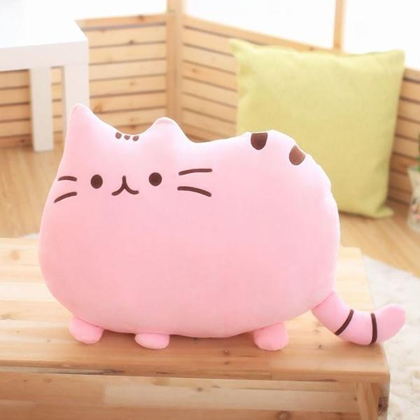 Polštář Pusheen Plyšová kočka růžová 40x30 cm