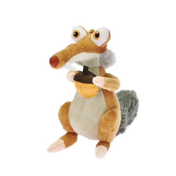 Plyšová veverka Scrat 22 cm z filmu Doba ledová